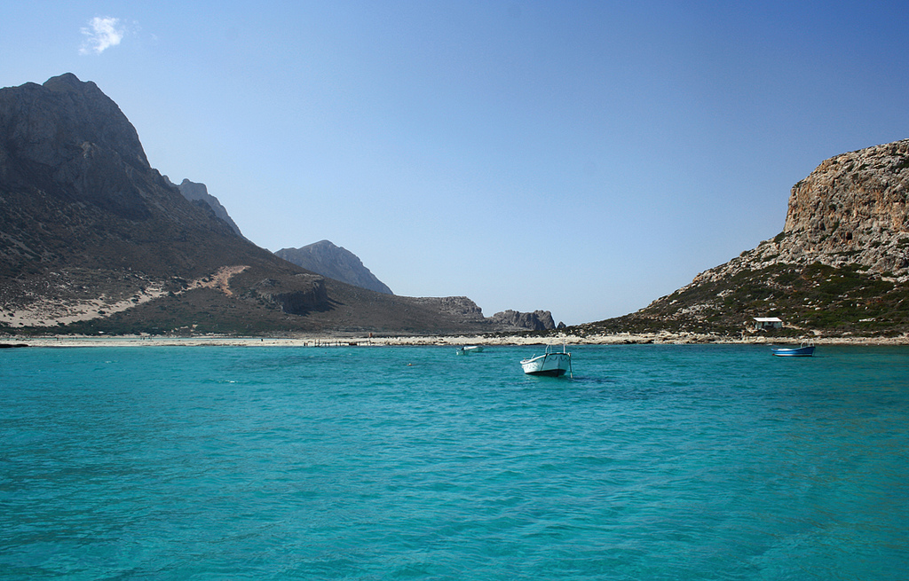 Balos Lagoon photo