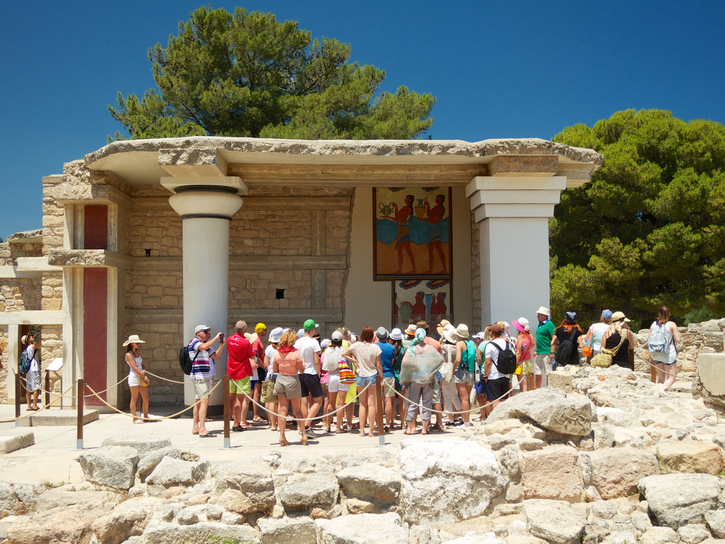 Minoan Palace of Knossos photo