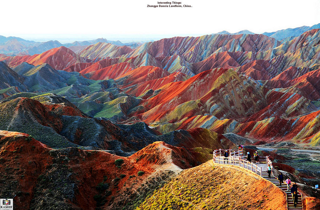 Zhangye Danxia Landform photo