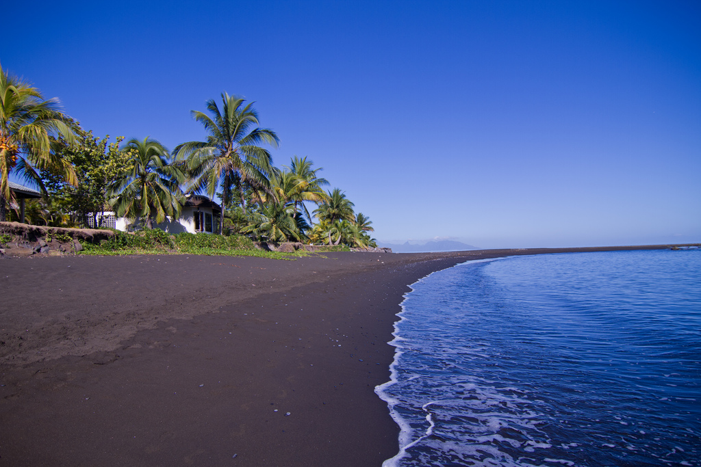 Plage de Tahiti photo