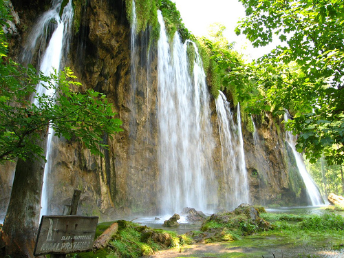 Plitvice Falls photo