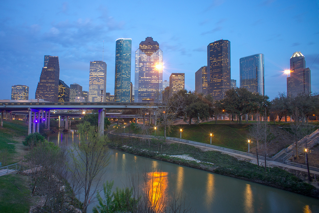 Houston Skyline photo