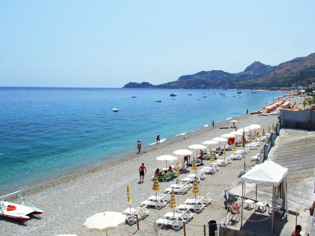 Giardini-Naxos Beach photo