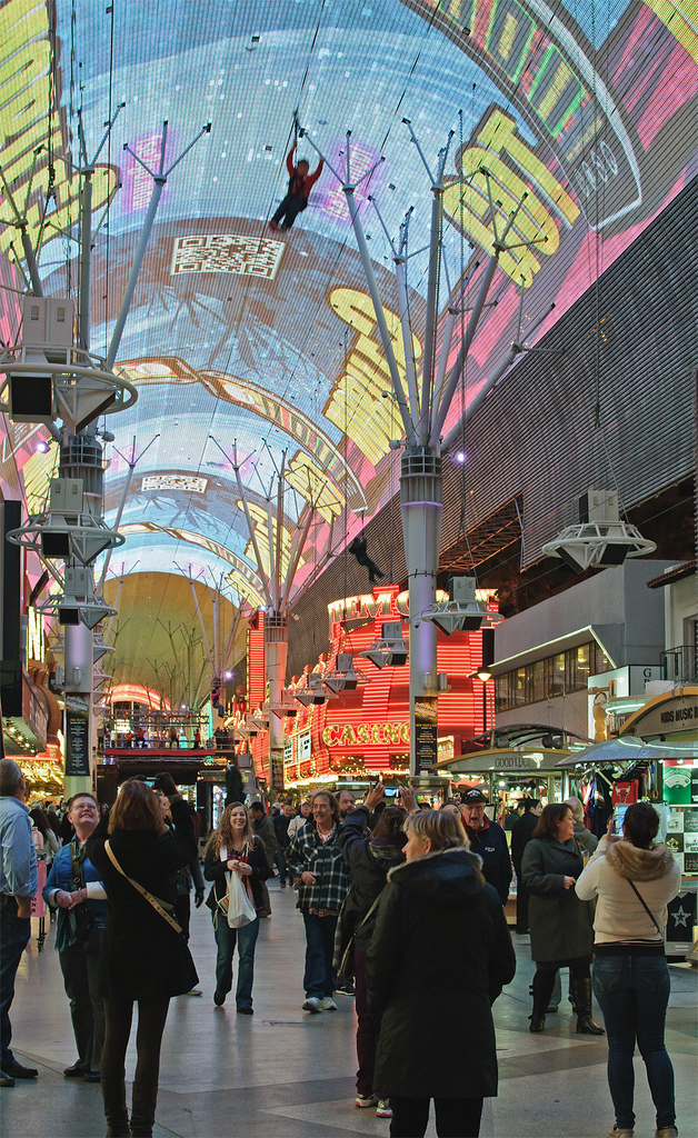 Fremont Street Las Vegas photo