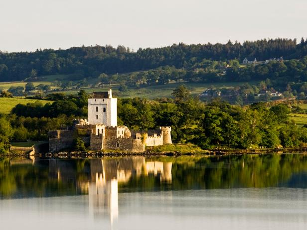 Doe Castle is one of the most beautiful castles in Ireland