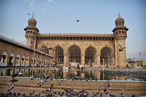 Mecca Masjid, India photo