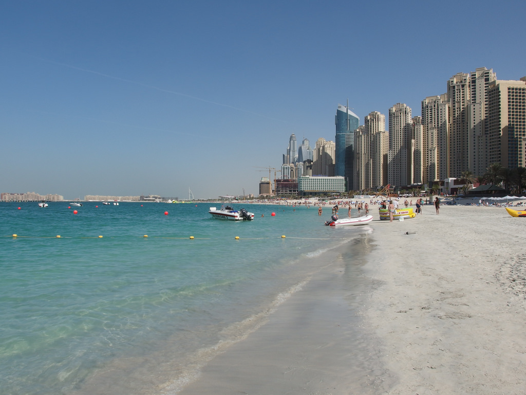 Jumeirah beach photo
