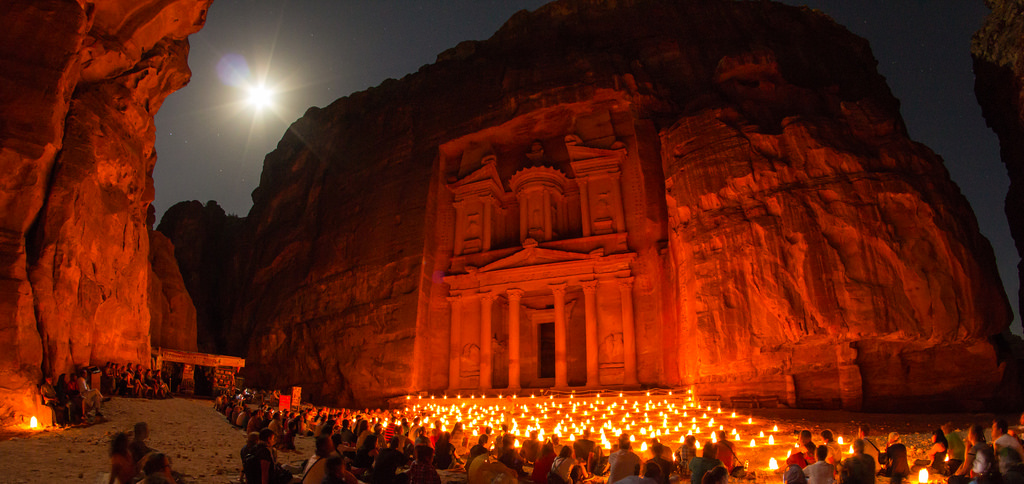 Petra Night photo