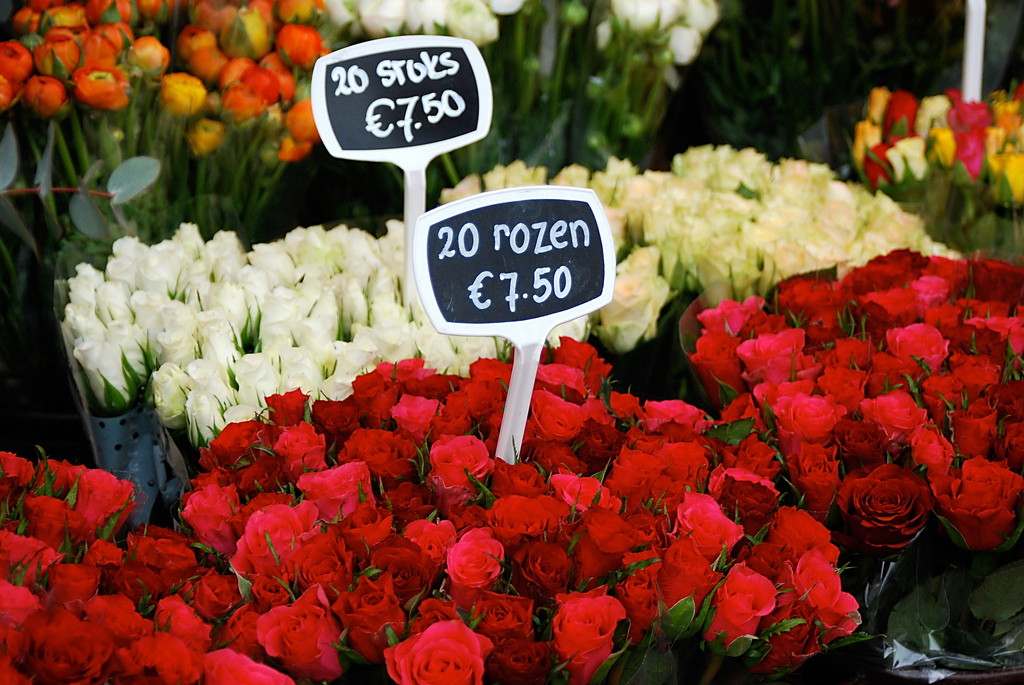 Bloemenmarkt photo