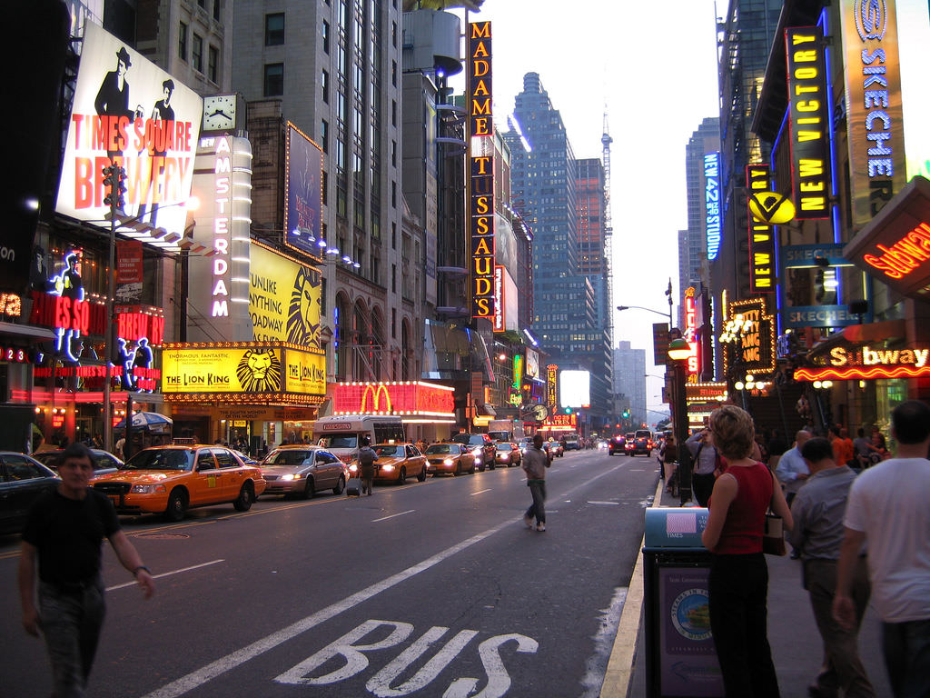 Broadway photo- one of the best New York City Attractions