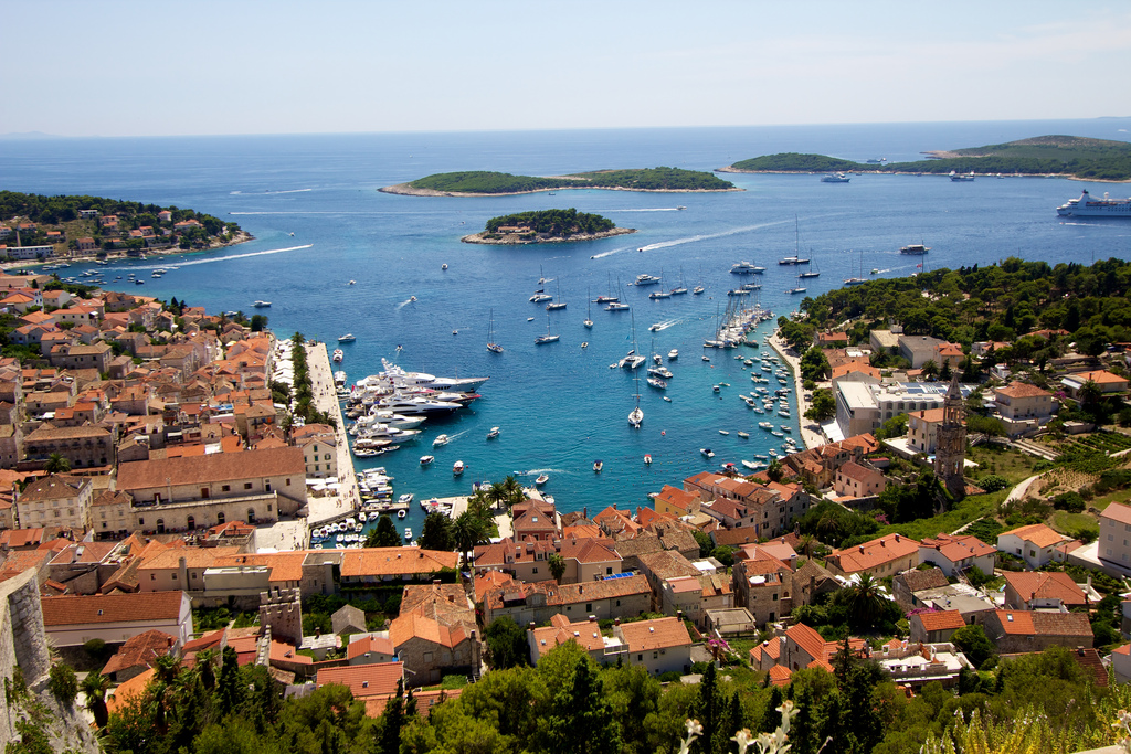 Hvar photo- one fo the best places to visit in Croatia