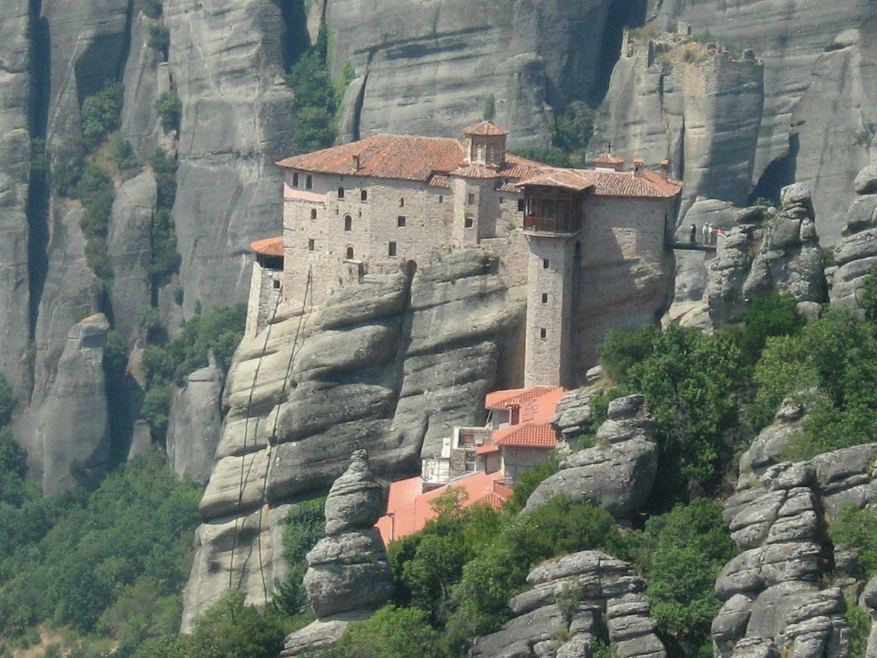 Meteora, one of the most popular tourist attractions in Greece