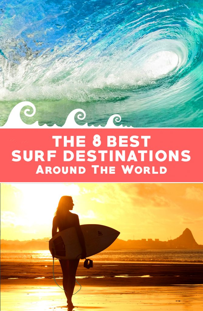 8 best surf travel destinations around the world travel for Vacation spots around the world
