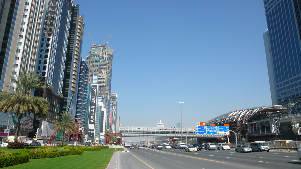 Sheikh Zayed Road photo