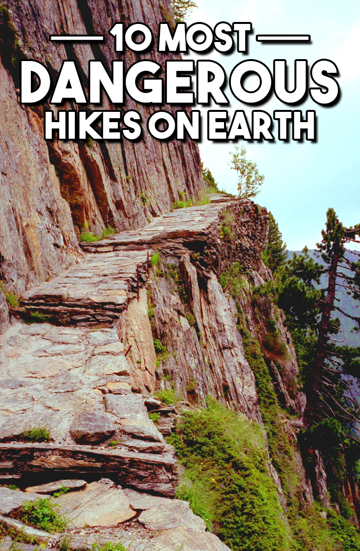 Top 10 Most Dangerous Hikes On Earth