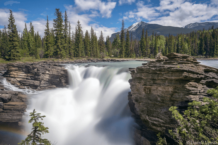 Canadian waterfalls