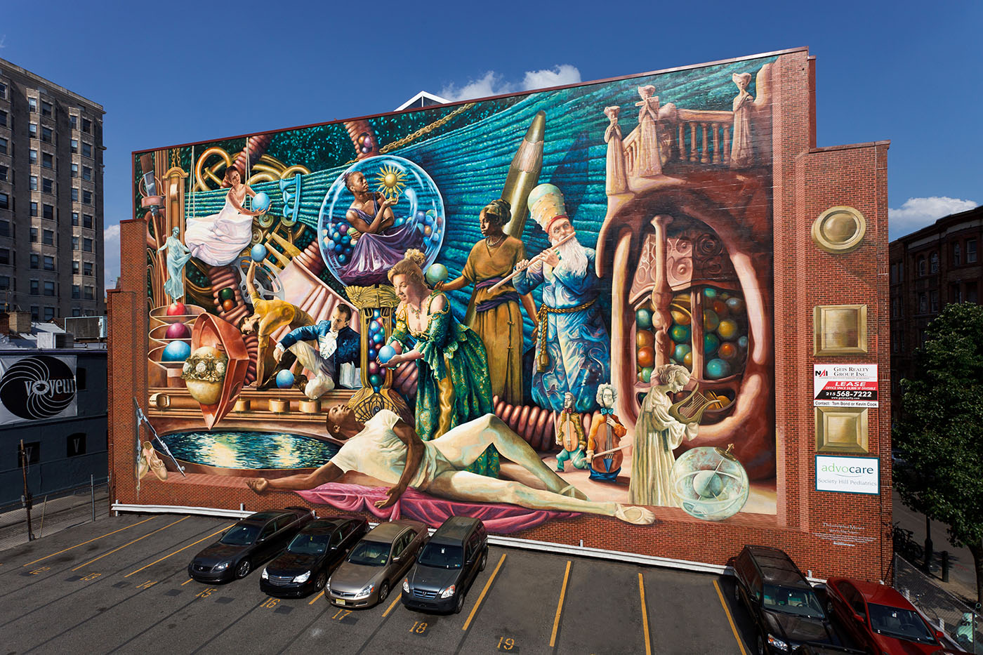 Top 10 must see murals in philadelphia travel pleasure for Figure 8 mural
